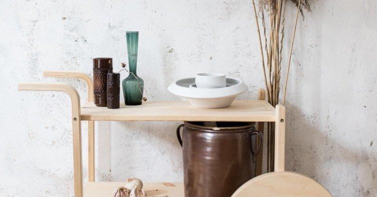 Ikea Hack In 5 Schritten Vom Frosta Hocker Zum Barwagen Mit