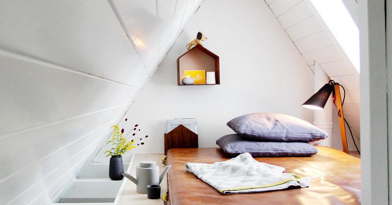 Bekannt Dachschrägen einrichten – Tipps und Ideen für das Dachgeschoss VX24