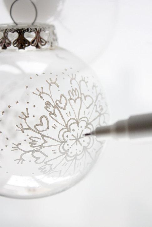 weihnachtskugeln glas selbst gestalten kaagenbraassemvoetbal. Black Bedroom Furniture Sets. Home Design Ideas