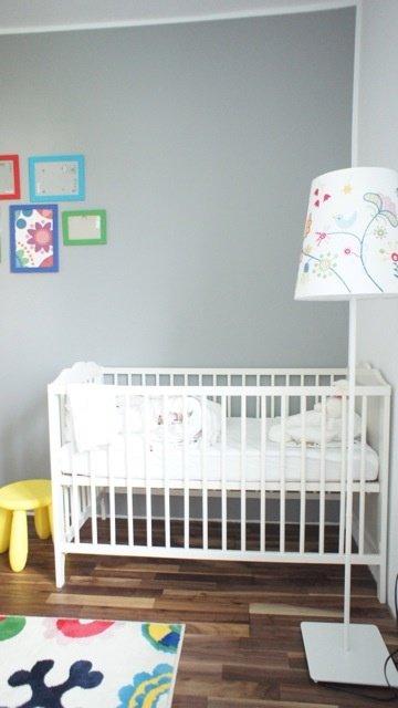 Einrichtungsideen In Grau: Im Kinderzimmer Wirkt Grau Weich Und Zart.  (Mitglied: Sunnywayoflife)