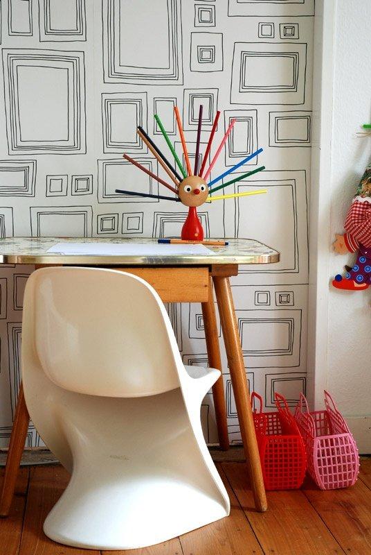 Wandgestaltung im Kinderzimmer: Die schönsten Kindertapeten ...