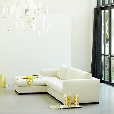 Wohnzimmergestaltung Mit Beigefarbenen Sofas: Das Stockholm Sofa 3 Sitzer  Mit Longchair Ist Ein Gemütlicher Ruheplatz. Bei Ikarus Für 1980 Euro: ...