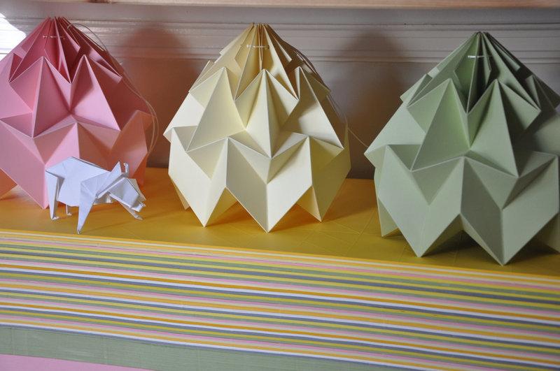 Licht An Die Schönsten Origami Lampen Solebich De