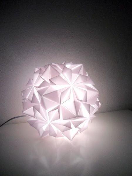 Licht An Die Schonsten Origami Lampen Solebich De