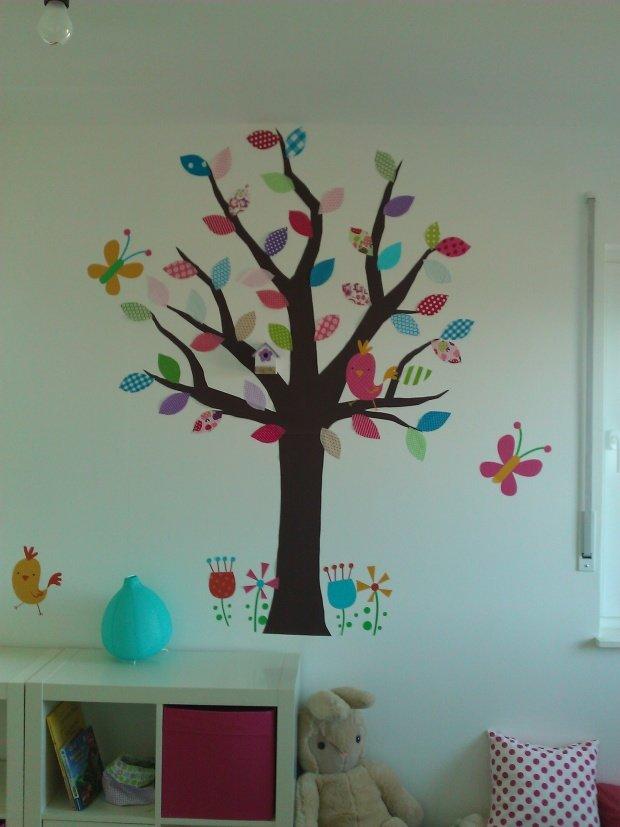 Kinderzimmer wandgestaltung baum selber malen  Baum und Bäumchen: Fabelhafte Wandgestaltung (nicht nur) im ...