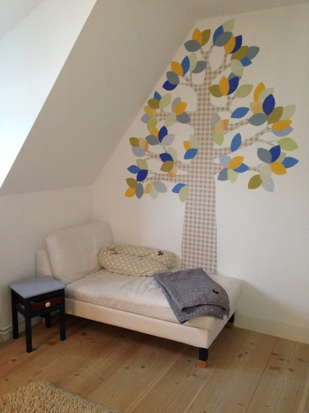 Kinderzimmer wandgestaltung vorlagen  Baum und Bäumchen: Fabelhafte Wandgestaltung (nicht nur) im ...