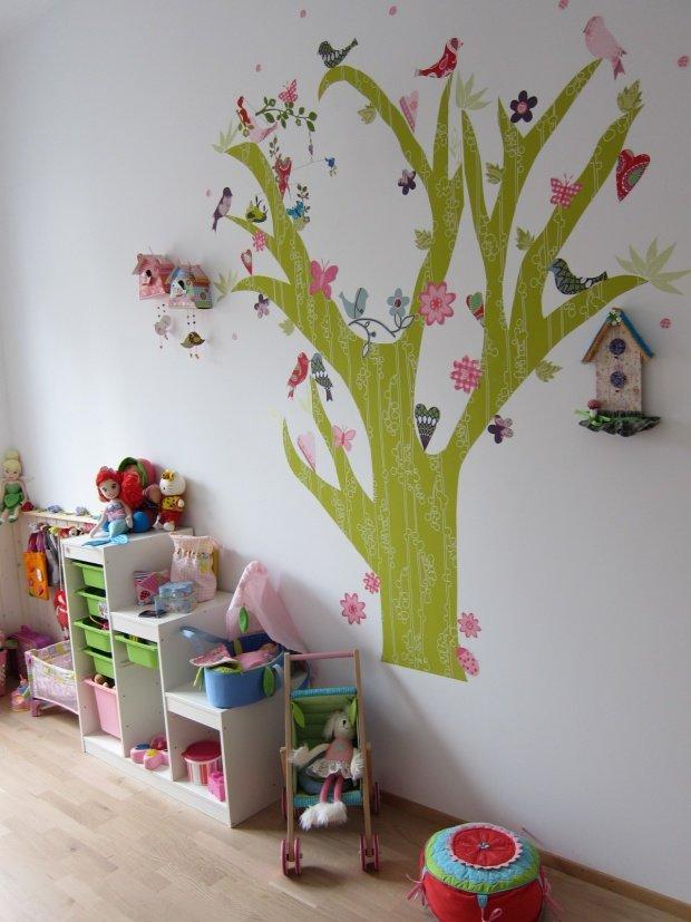 baum und b umchen fabelhafte wandgestaltung nicht nur im kinderzimmer. Black Bedroom Furniture Sets. Home Design Ideas
