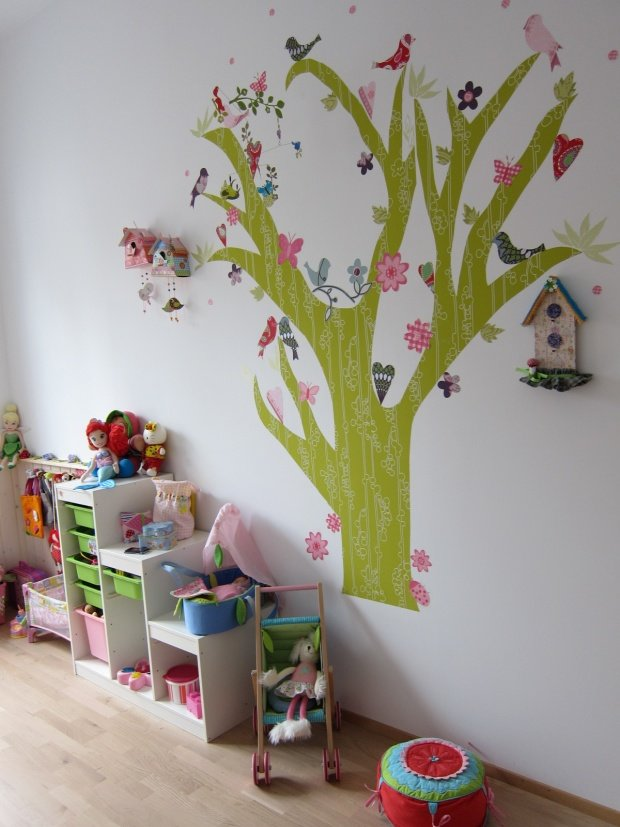 Kinderzimmer wandgestaltung wald for Kinderzimmer wandgestaltung