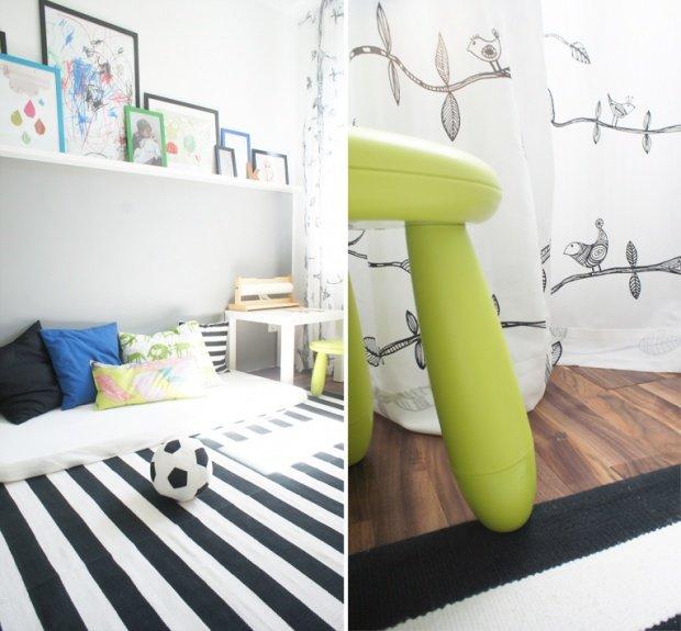 gut kombiniert die wohnung einrichten mit farben und mustern. Black Bedroom Furniture Sets. Home Design Ideas