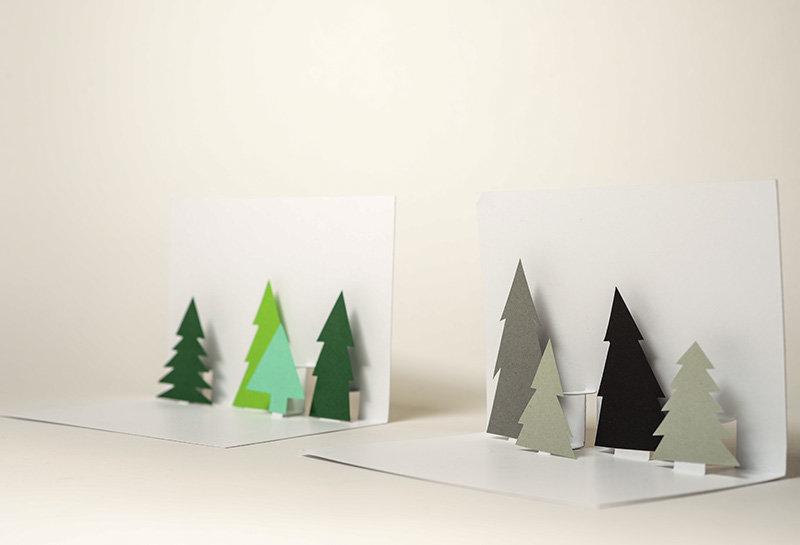 Der Solebich Adventskalender Pop Up Weihnachtskarten Basteln Mit