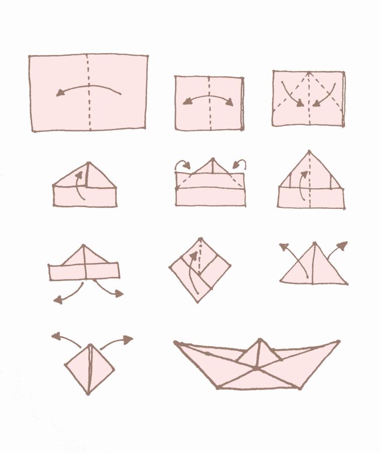 Berühmt Dekorieren mit Papier: Hier ist die einfache Falt-Anleitung für OW95
