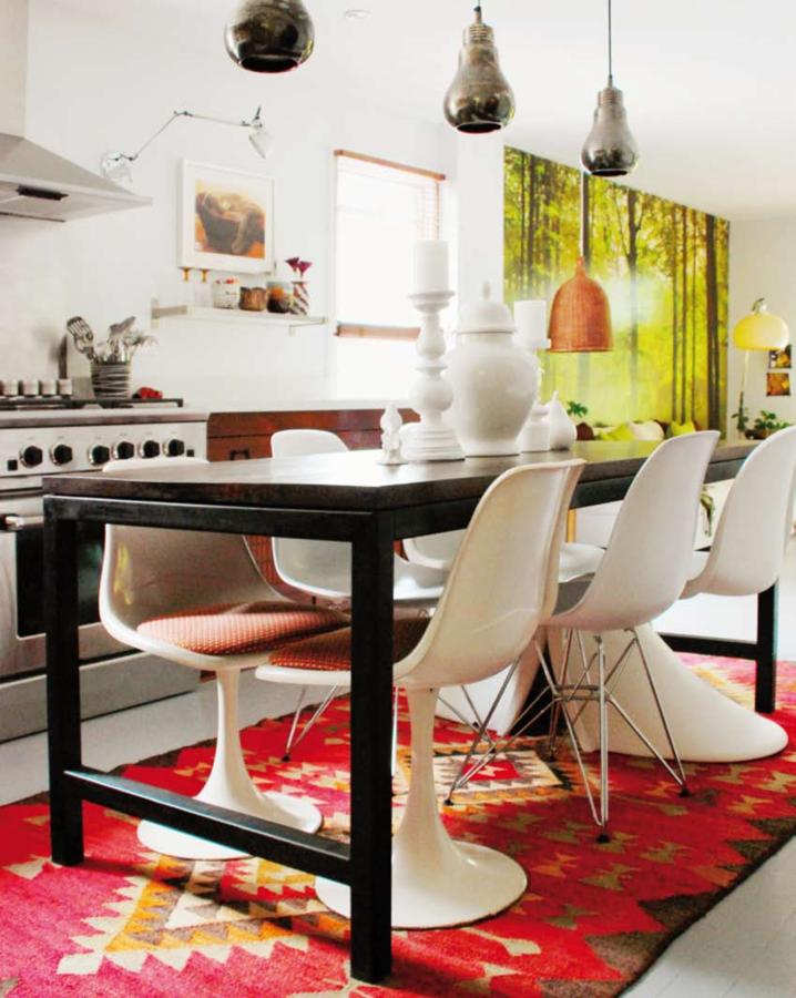Indianischer Muster Teppich Im Haus In Kanada: Mitglied Kimdesigntoinspire  Sitzt An Der Quelle Der Ethno Muster