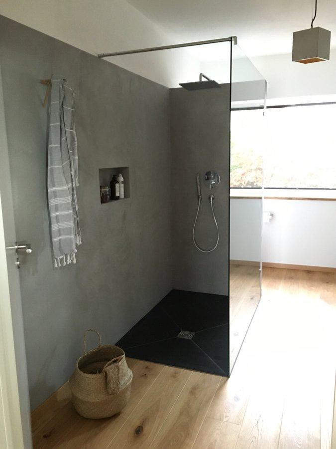 beton und holz im bad 2. Black Bedroom Furniture Sets. Home Design Ideas