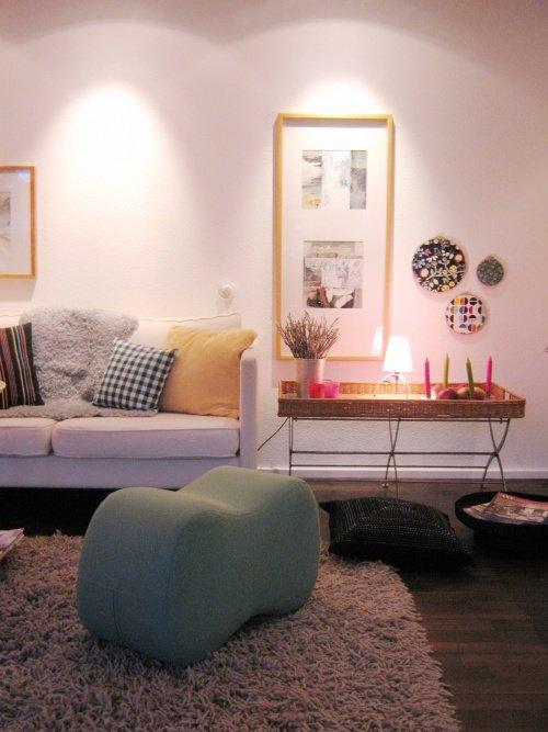 Farbgestaltung Wohnzimmer: Bei _frida_ Strahlt Die Sitzwolke In Einem  Frischen Minnt