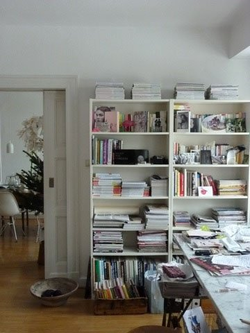 Wohnideen Wohnzimmer Goldmarie Verwahrt Ihre Zeitschriften In Einem Gerumigen Regal