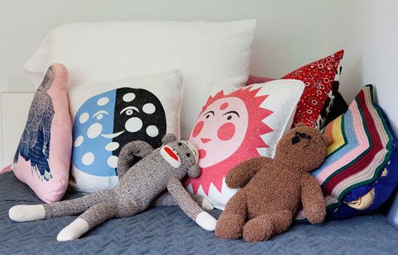 Kinderzimmer Deko: Kissen | SoLebIch.de