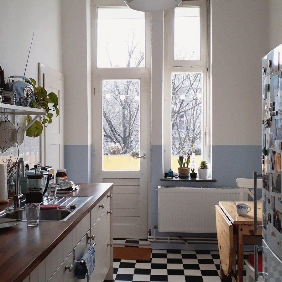 Sonne in der Küche