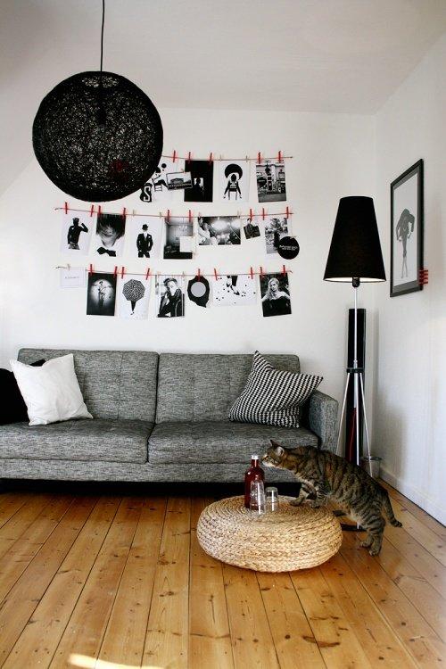 Wandgestaltung Mit Fotos | Solebich.de, Wohnzimmer Design