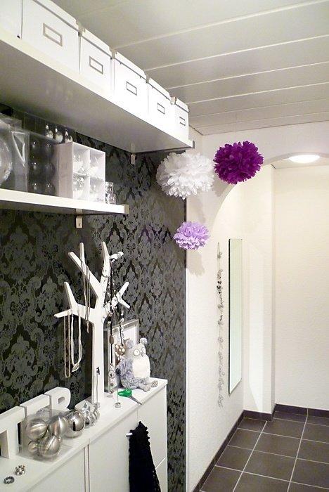 wandgestaltung barocke tapeten. Black Bedroom Furniture Sets. Home Design Ideas