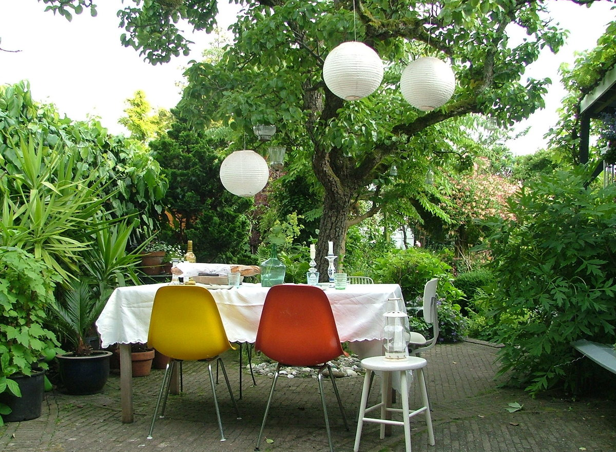 feste feiern im garten dekoideen f r kleine und gro e runden. Black Bedroom Furniture Sets. Home Design Ideas