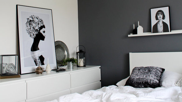 die sch nsten wanddeko ideen. Black Bedroom Furniture Sets. Home Design Ideas