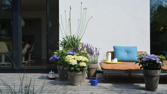 Terrassengestaltung bilder ideen for Gartendeko sommer