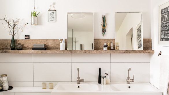 Badezimmer bilder ideen for Wohnen zimmer deko