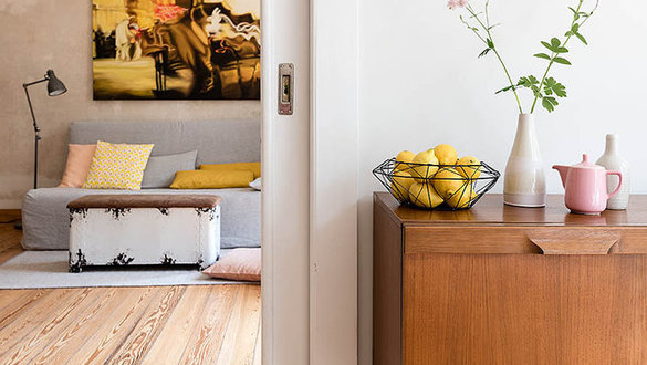 wohnen mit pastellfarben zarte dekoideen in rosa hellblau und zart gelb. Black Bedroom Furniture Sets. Home Design Ideas