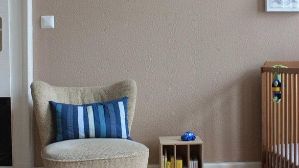 Zimmer Mit Braunen Wänden