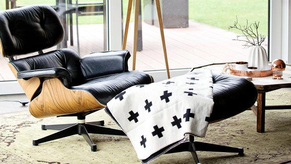 Gemütlich: Der Eames Lounge Chair
