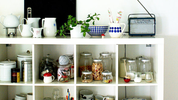 ideen und inspirationen für ikea regale - Kleine Regale Für Küche