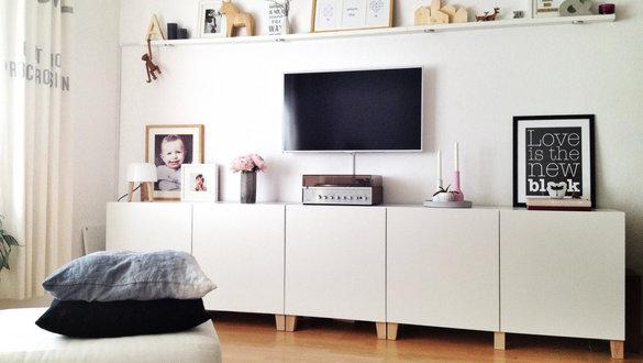 Ikea Besta Wohnzimmer. Wohnwand Besta Schwarz Reizvolle On Moderne Deko  Idee Zusammen Mit Tv .