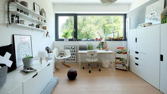 Jugendzimmer einrichten ikea  Ideen für das IKEA Stuva Kinderzimmer Einrichtungssystem