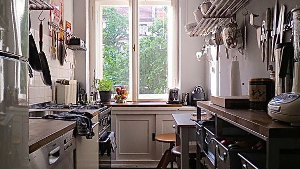 Kleine Küchen Praktisch Einrichten