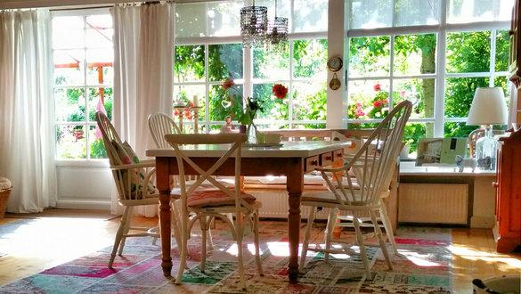 rustikale landhaus esszimmer - Esszimmer Einrichten Tipps