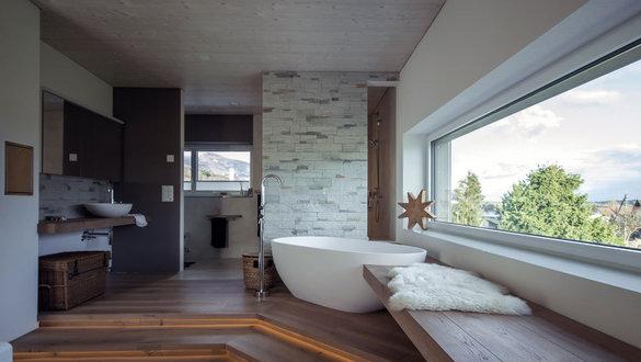 Modern wohnen der moderne wohnstil for Moderne badezimmer bilder