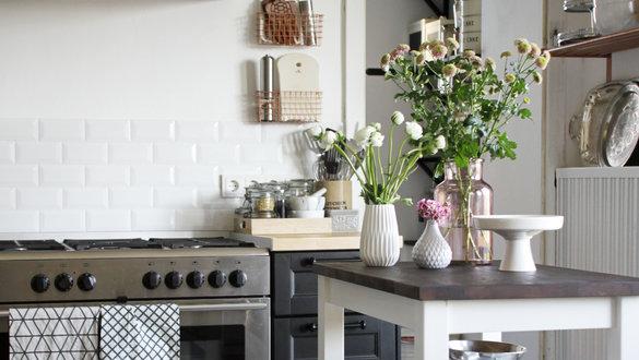 Helle Skandinavische Küchen