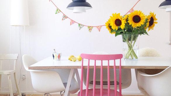Dekoideen Mit Sommerblumen: Gladiolen, ...