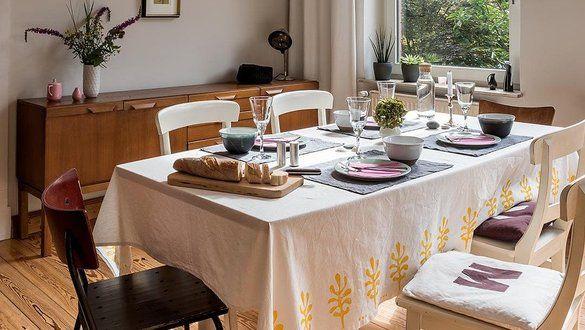 Schöne Ideen Mit Tischdecken