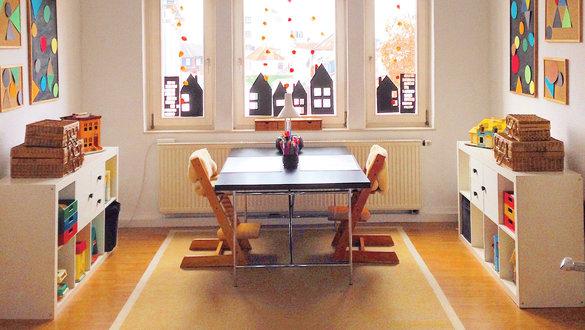 wohnen und einrichten im vintage stil. Black Bedroom Furniture Sets. Home Design Ideas