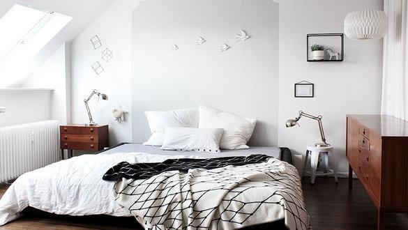 Wohnen Und Einrichten Im Vintage Stil Schlafzimmer Einrichten Vintage