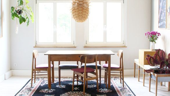 Retro Wohnzimmer Wohnen Wie Früher: Wohlfühlen Im Vintage Flair: Inspirationen Für Schöne