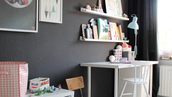 Die besten Ideen für die Wandgestaltung im Kinderzimmer | {Wandfarbe kinderzimmer 70}