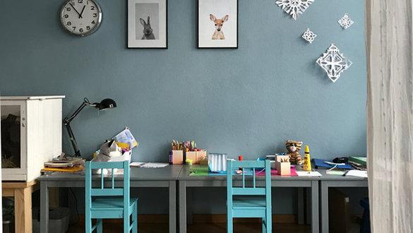 Schöne Wandfarben Ideen Für Das Kinderzimmer