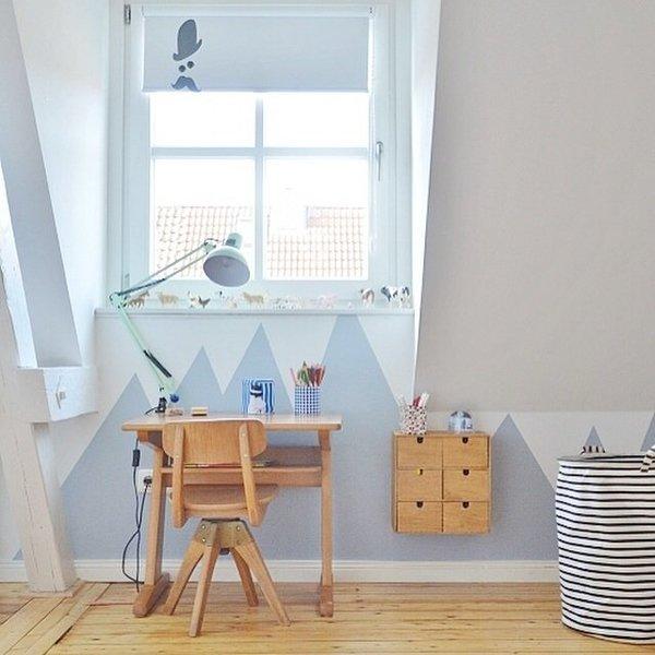 diynstag 10 ideen f r die wandgestaltung im kinderzimmer. Black Bedroom Furniture Sets. Home Design Ideas