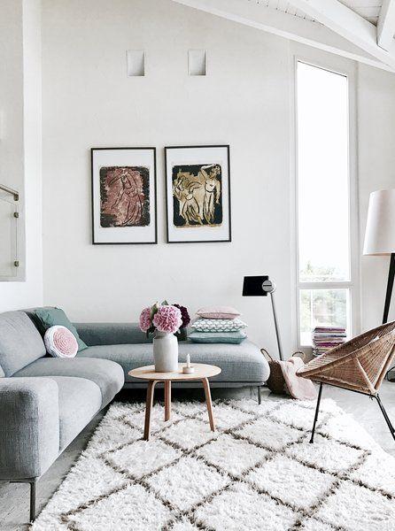 Wohnzimmer In Zarten Farben Von @AlMaKa Und Sommer Schlafzimmer Von  @SOMMERform