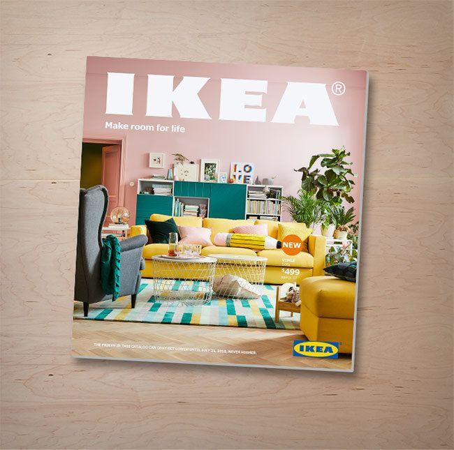 Hier Gehtu0027s Zum Neuen Ikea Katalog 2018!