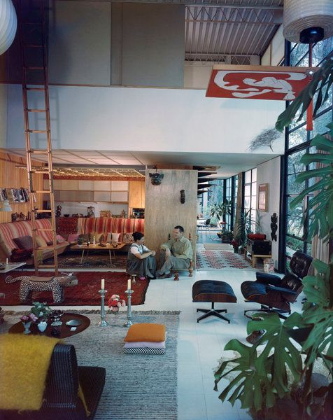8 in pacific palisades los angeles gehrt zur eames foundation und kann auch auf anfrage besichtigt werden hier knnt ihr auch einen blick in das haus - Fantastisch Tolles Dekoration Charles Eames Schaukelstuhl