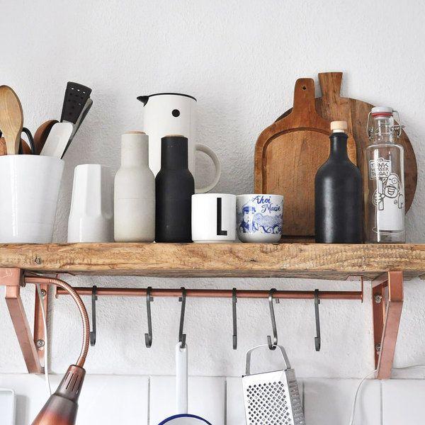 9 einfache diy ideen f r k chenm bel. Black Bedroom Furniture Sets. Home Design Ideas