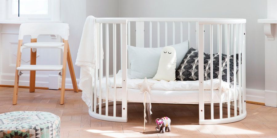 ein traum f r die kleinen das stokke sleepi babybett. Black Bedroom Furniture Sets. Home Design Ideas